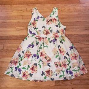 Jack by BB Dakota White Floral Dress